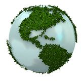 Green earth Stock Image