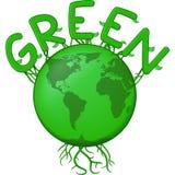 The Green Earth Royalty Free Stock Photos