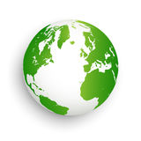 Green earth  abstract Stock Photography