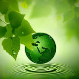Green Earth. Royalty Free Stock Image