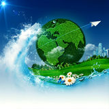 Green Earth. Stock Photography