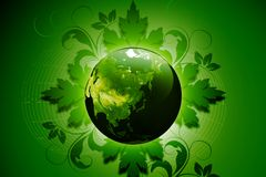 Green earth concept Stock Photo