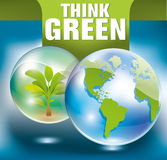 Green earth concept Royalty Free Stock Photography