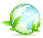 Green earth concept Royalty Free Stock Photo