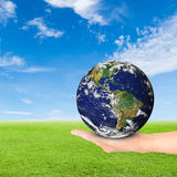 Green Earth concept Royalty Free Stock Images