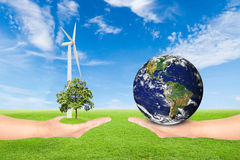 Green Earth concept Royalty Free Stock Image