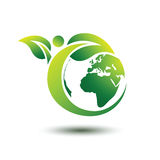 Green earth Stock Photography