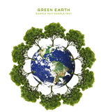 Green earth concept Stock Photography