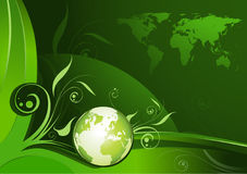 Green Earth design royalty free stock images