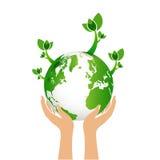 Green earth eco concept Stock Image