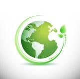Green earth. Ecology concept. Stock Photos