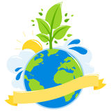 Green earth ecology concept Royalty Free Stock Photography