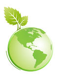 Green earth Stock Photos