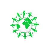 Green earth illustration Royalty Free Stock Image