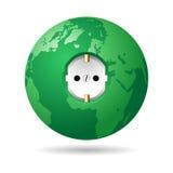 Green earth power EU Royalty Free Stock Image