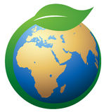 Green Earth Symbol Stock Photos