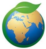 Green Earth Symbol Stock Photos