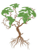 Green earth tree Royalty Free Stock Photography