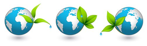 Green earths Royalty Free Stock Photo
