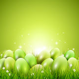 Green Easter background Royalty Free Stock Images