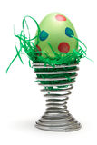 Green Easter Egg Stock Photos