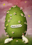 Green Easter Egg Royalty Free Stock Image