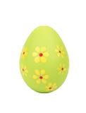 Green Easter Egg Stock Images