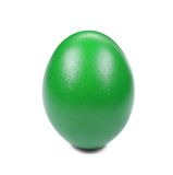 Green easter egg. Royalty Free Stock Photo