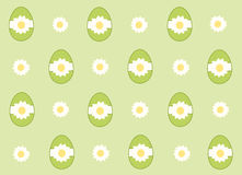 Green Easter eggs background Royalty Free Stock Image