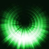 Green eclipse effect Royalty Free Stock Photos
