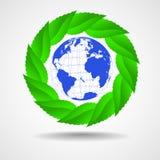 Green eco background Stock Image