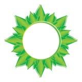Green, eco, bio and organic label. Royalty Free Stock Photos
