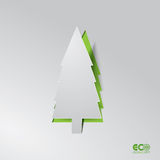 Green Eco concept - Abstract Pine. Stock Photography