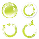 Green Eco Designs Stock Photo