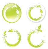 Green Eco Designs Stock Photo