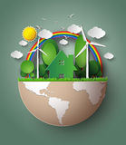 Green Eco Earth. Stock Photography