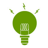 Green eco energy Royalty Free Stock Photos