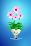 Green eco energy concept Stock Photos
