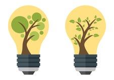 Green eco energy concept Stock Photo