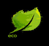 Green eco friendly background Royalty Free Stock Photo