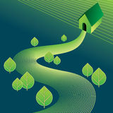 Green eco-friendly concept Stock Images