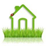 Green eco house Royalty Free Stock Photo