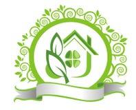 Eco house Stock Photography