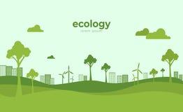 Free Green Eco Life Flat Art Style Stock Image - 122291811