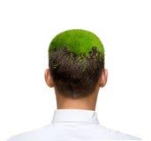 Green eco mind Royalty Free Stock Photos