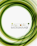 Green eco nature wave background Royalty Free Stock Photos