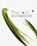 Green eco nature wave background Royalty Free Stock Images