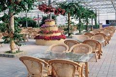 Green eco-restaurant. A green eco-Restaurant Stock Photography