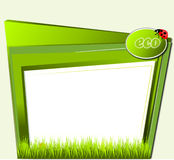Green eco template Stock Photos