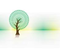 Green eco tree Royalty Free Stock Photo